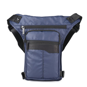 Image 4 - Men Waterproof Oxford Fashion Drop Leg Bag Fanny Waist Pack Casual Shoulder Bag Military Motorcycle Riding Cross Body Pouch