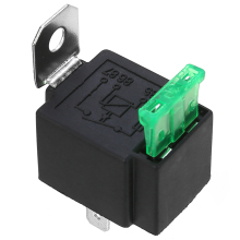 New Arrival 1pc 12V Relay 4 PIN Automotive 30AMP RY28 Normally Open Contact + 30A Fuse for Car Switch Relays