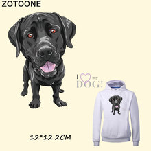 ZOTOONE New Dog Patches Iron Print Transfer A-level Washable Stickers Heat Press Appliqued Clothes on E