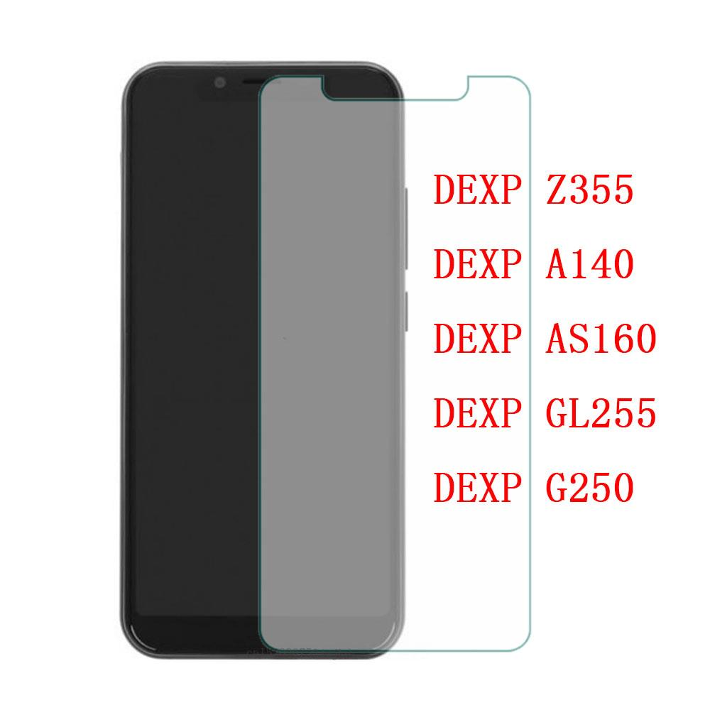 Tempered Glass For DEXP Z355 Protective Film 9H Screen Protector Explosion-proof For DEXP A140 AS160 GL255 G250