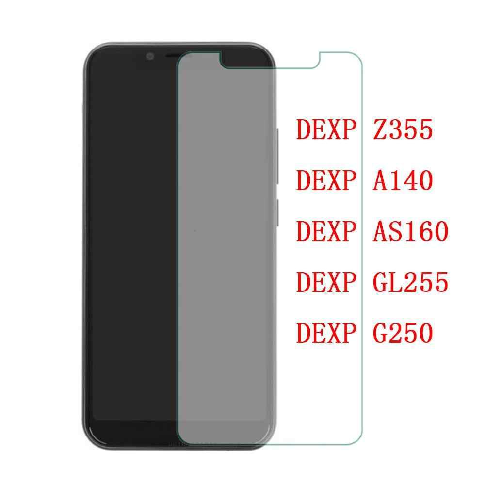Vidrio templado para DEXP Z355 película protectora 9 H Protector de pantalla a prueba de explosión para DEXP A140 AS160 GL255 G250
