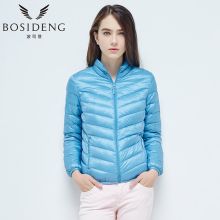 BOSIDENG Ultra Light Winter Women's Clothing High Quality Down Jacket Regular Thin Coat B1601006X