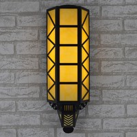 Traditional chinese style wall lamps led exterior lighting led wall sconce villa garden aisle waterproof outside wall lighting