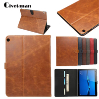 Civetman Luxury Leather Cover Slim Protective Case For Huawei MediaPad M3 Lite 10 1 BAH W09