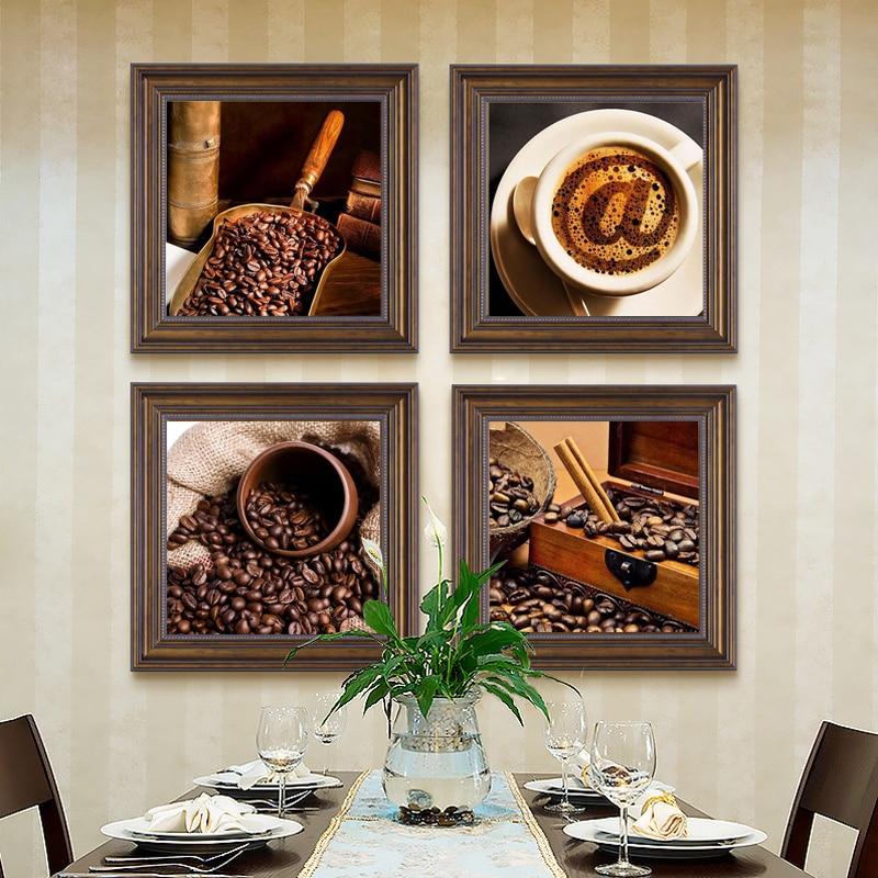 achetez en gros café toile en ligne à des grossistes ... - Peinture Sur Toile Pour Cuisine