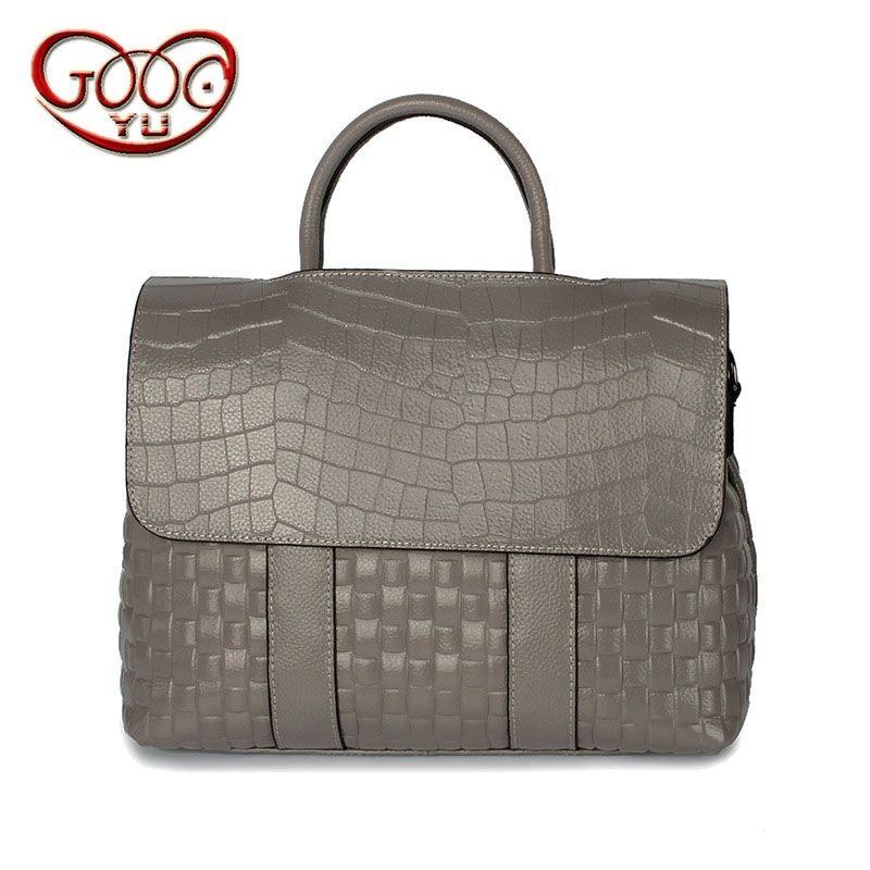 цены New first layer of leather flip bag fashion crocodile pattern handbag ladies horizontal square leather shoulder diagonal package
