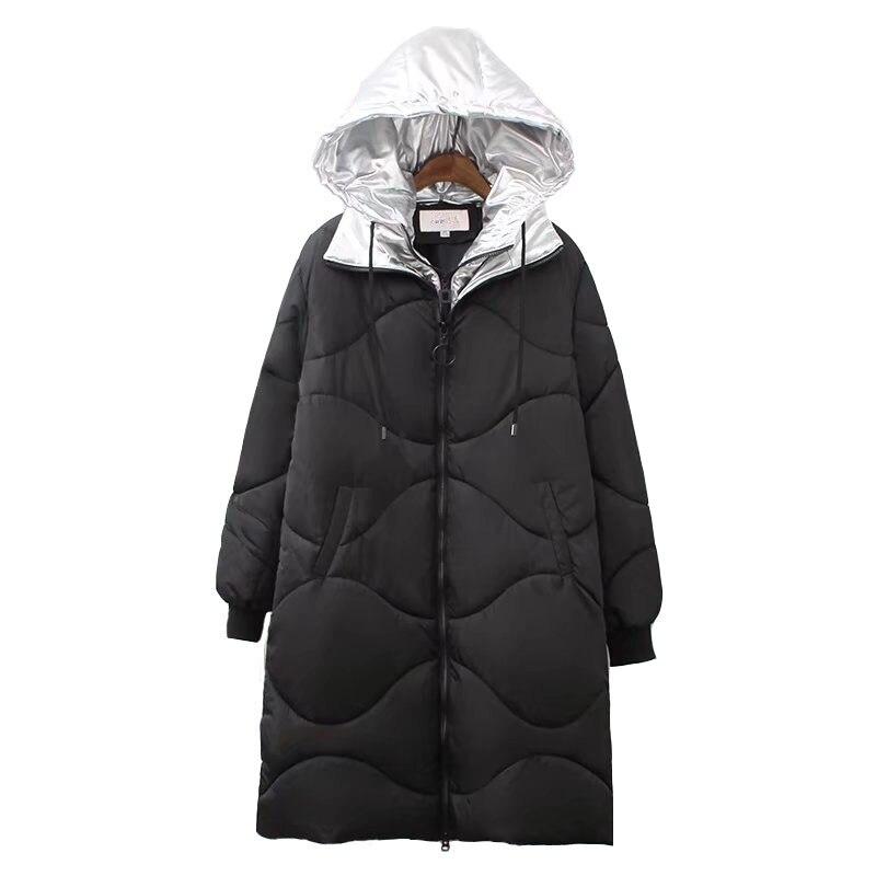 Grande taille Femmes Parkas 2018 New Hiver Coton veste Épaississent Chaud À Capuche Top Plus taille 5XL Femelle Coton de Haute qualité coats1985