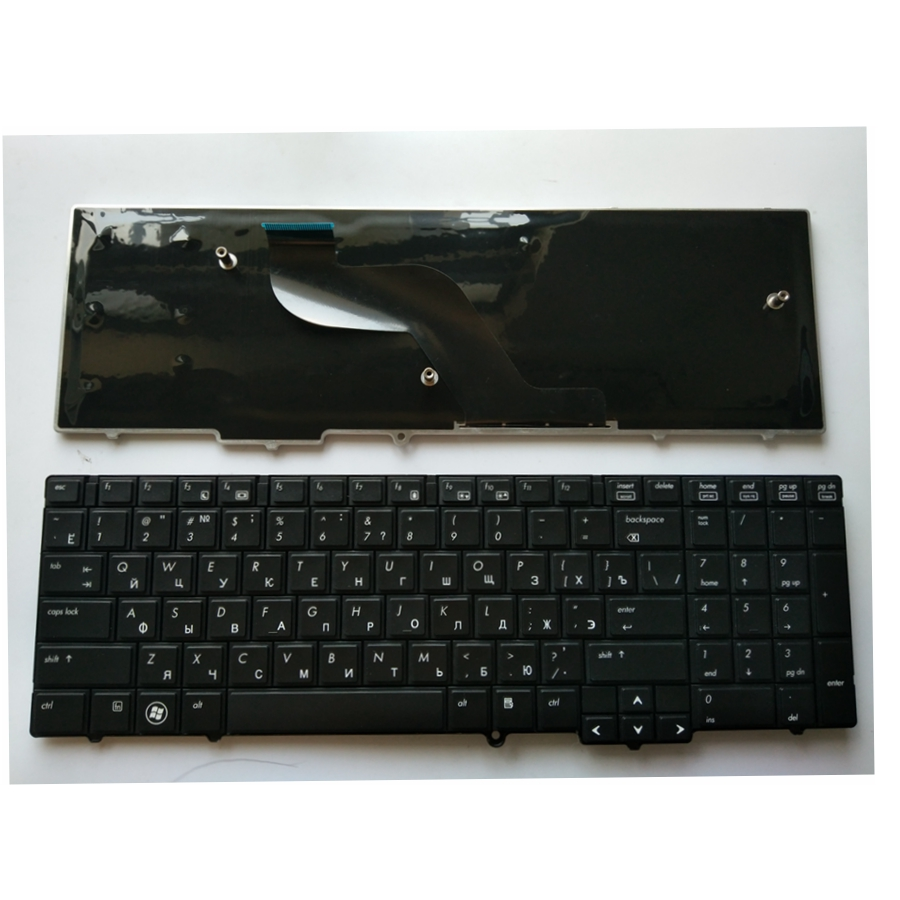 Russia For HP For Compaq 6540B 6545B 6550B 6555B 6540 6545 609877-251 613386-251  RU Laptop Keyboard