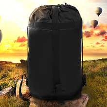 Outdoor Travel Compression Bag Large Capacity Camping Sleeping with Drawstring  Opening Ripstop Nylon