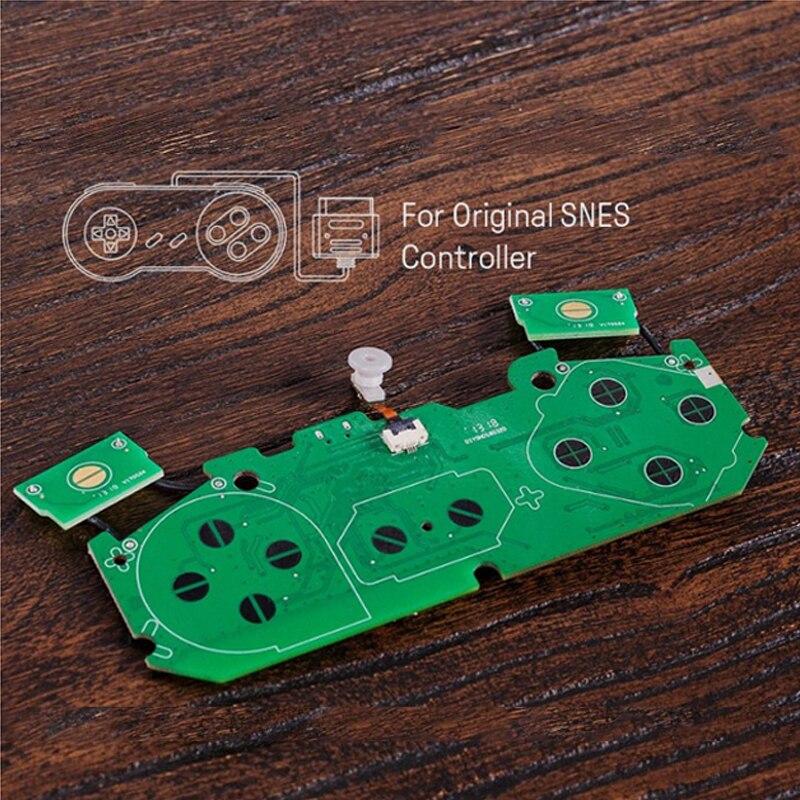 8Bitdo DIY Super Modkit Parts SNES/SF-C Controller DIY SNES SF-C Controller To Bluetooth Gamepad For Sega Mega Drive Controller