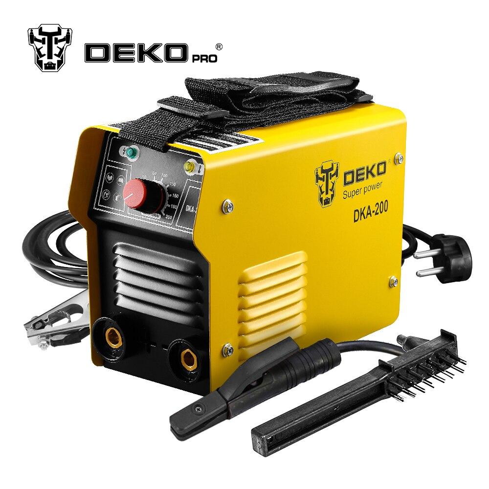 DEKOPRO DKA 200 200A 5.8KVA IP21S Inverter Arc Electric ...