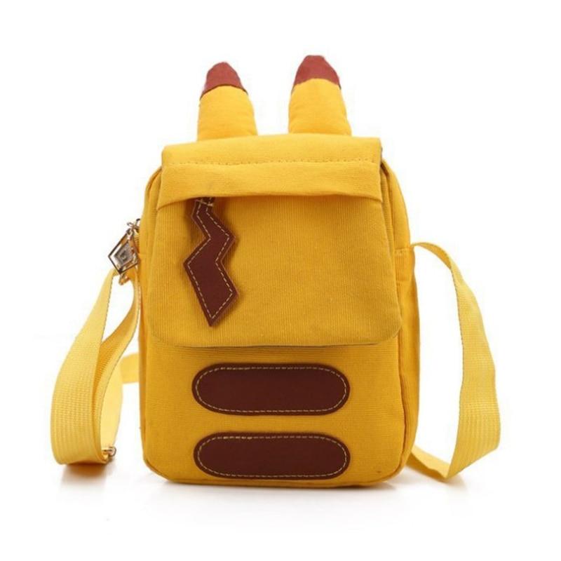 Pokemon Go Shoulder Bag Pikachu Handbag Girl College Bag Animal Shoulder Bag Lovely Gift