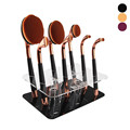 9 Hot Oval Makeup brushes Tools Cosmetic Foundation Makeup Brush Holder Drying Rack Organizer Cosmetic Shelf Tool kits