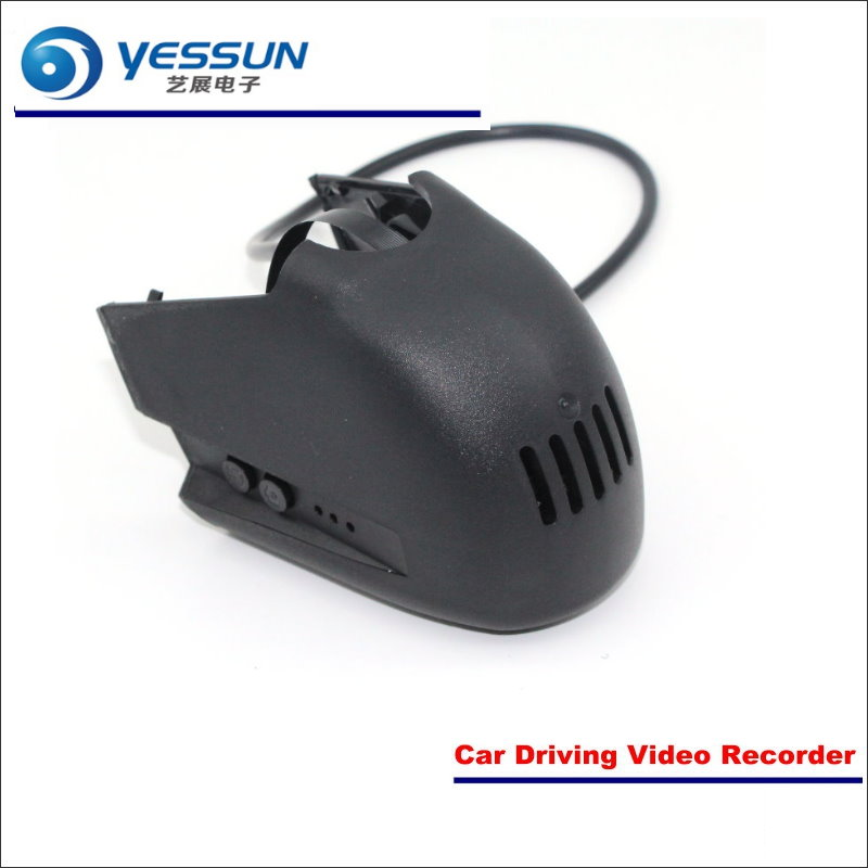 YESSUN Car Front Camera For Audi A4L High Edition 2017 DVR Driving Video Recorder Black Box Dash Cam Head Up Plug OEM 1080P WIFI for mazda 6 car dvr driving video recorder mini control app wifi camera black box registrator dash cam night vision
