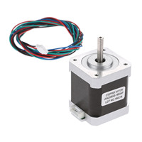 Nema 17 48mm Hybird Stepper Motor 0.9 Degree 2 Phase 4400g.cm 1.68A 4 Leads For 3D Printers CNC