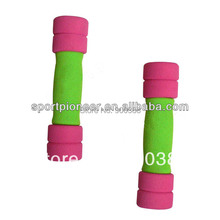 Hot Sell 3kg Sponge Fitness Dumbbell with EVA foam for Home yoga aerobics and body building