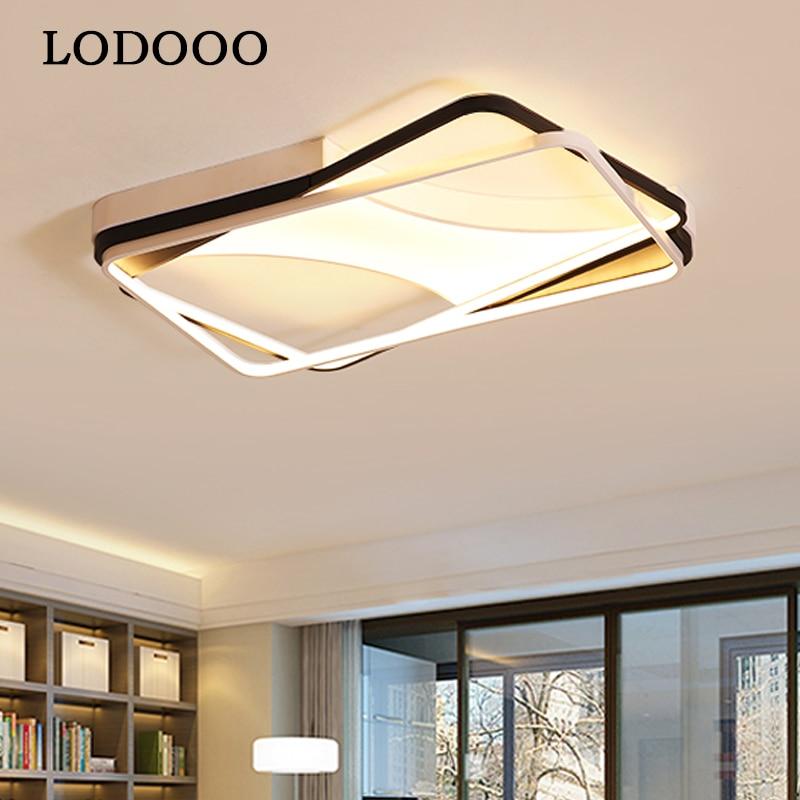 Новый дизайн алюминиевый современный светодиодный Потолочные светильники для гостиной Спальня Plafon домашнее светодиодное освещение потол