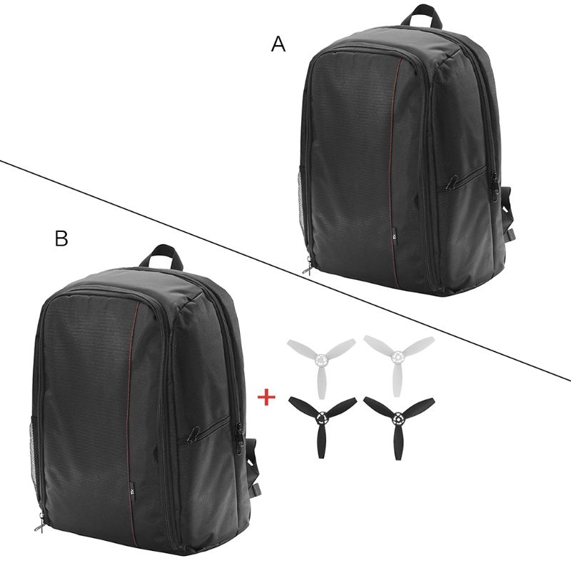 1Set Portable drone Backpack Travel Bag Carrying Case Propellers for Parrot Bebop 2 FPV Drone Accessories