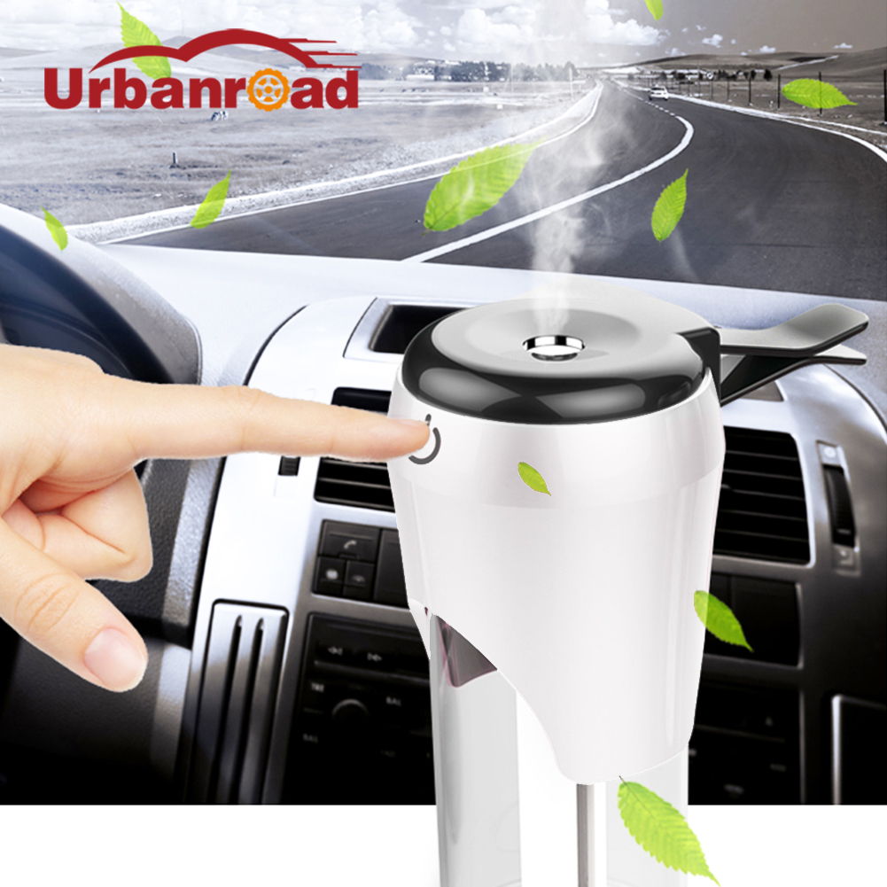 12v Mini Aromatherapy Essential Oil Car Air Humidifier Diffuser Car Steam Humidifier Air Purifier <font><b>Freshener</b></font> Diffuser Essential
