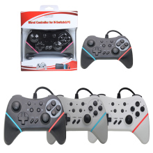 Newest USB Wired Controller Gamepad For Nintendo Nintend Switch NS Support Switch and PC Games Gaming Play With TURBO Button