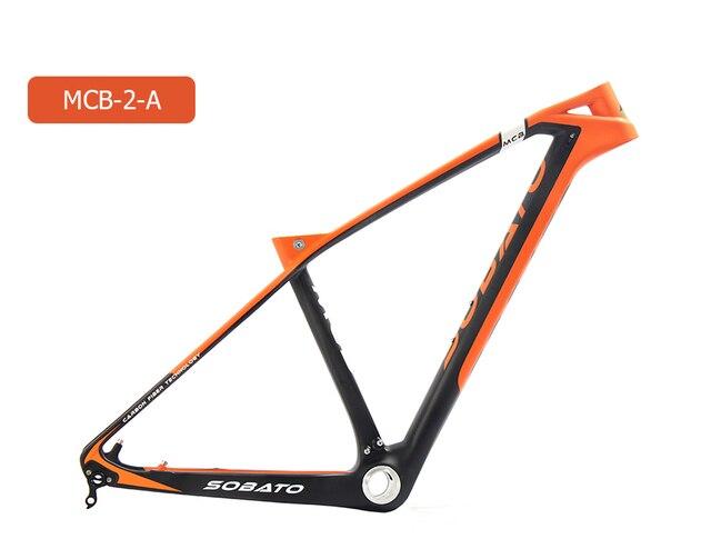 27.5er Full Carbon fiber frame Custom Painting Bike Frame BB92 Free ...