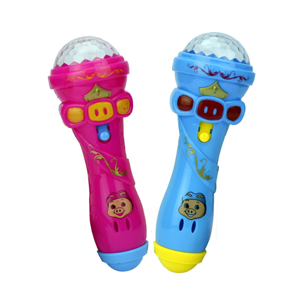 Flash Of Light Microphone All Over The Sky Star Rod Luminous Toy Wholesale PC0264