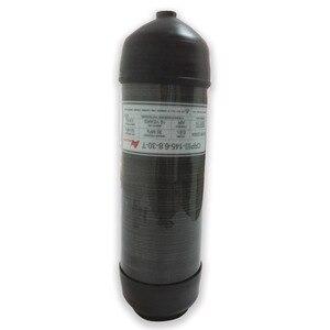 Image 5 - Acecare 6.8L gaz en fiber de carbone/paintball cylindre/réservoir protecteur en caoutchouc tasse PLONGÉE/plongée équipement/couvercle de cylindre manches AC8004