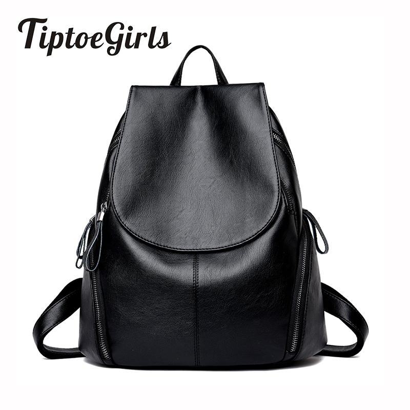 Hot Korean Version of the New Fashion Trend of Personality Casual Backpack Simple Wild Temperament High-Capacity Travel Bag 2017 winter fashion leisure quality waterprof pu men backpack college windbag trend korean version of the tide travellaptop bag
