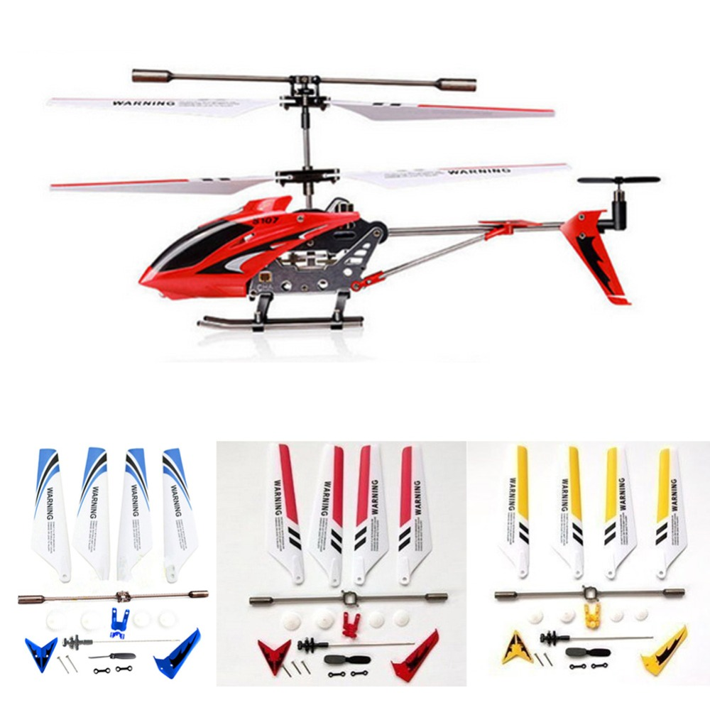 Syma S107G Remote control helicopter toy full set of aircraft complete spare parts for boys and girls small package 2017 new