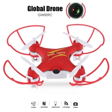 Drone GW009C RC Mini Drones With Camera Quadcopter Dron RC Helicopter Drones With Camera HD Quadrocopter Global VS JJRC H20