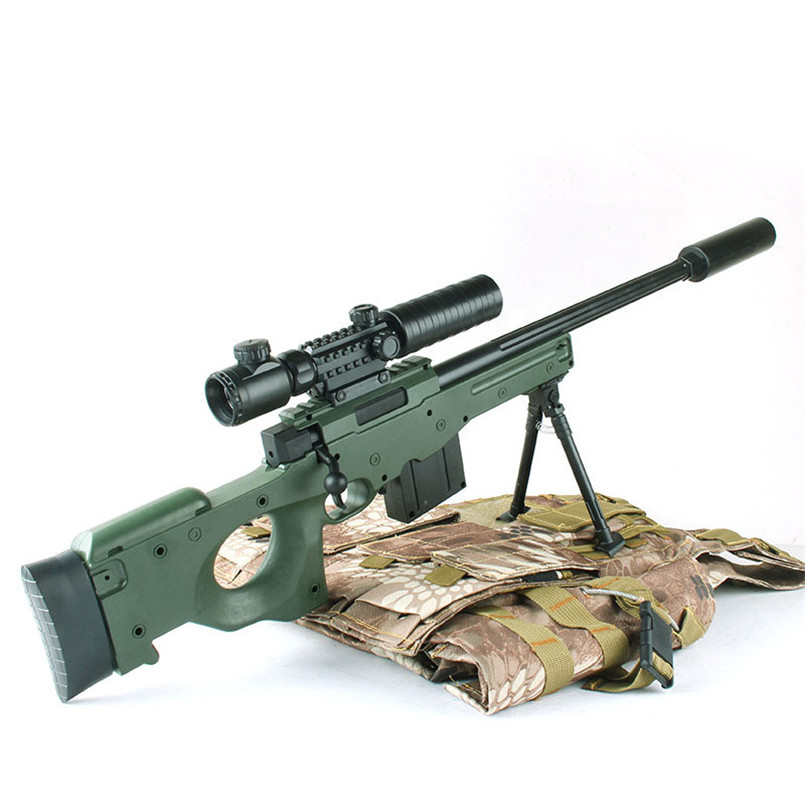 D'eau en plastique Balle Pistolet Jouet Pour Garçons AWM Sniper Carabine À Air Comprimé doux Arme CS Assaut Jeu Sports de Plein Air Tir Des Fusils enfants Jouets