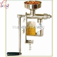 Manual Oil Press Peanut Nuts Seeds Oil Press Expeller Oil Extractor Machine press pure peanut machine