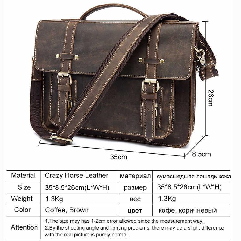 ... WESTAL Мужской портфель сумка мужская через плечо мужская сумка  натуральная кожа высокое качество мужская сумка натуральная 1746760083f