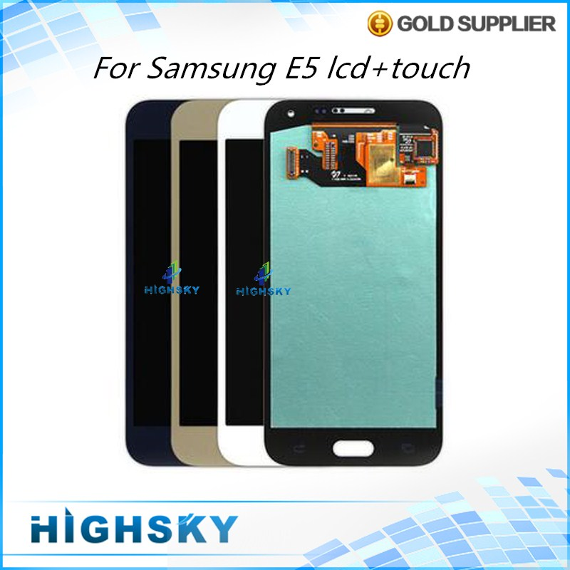 Подробнее о New Tested 5 PCS For Samsung E5 E500 E5000 E500F LCD Display With Touch Screen Digitizer Assembly Free DHL EMS + Tracking No. 10pcs free dhl tracking no 100% tested fir brand new 5 5 for iphone 6 plus lcd screen display digitizer assembly white black