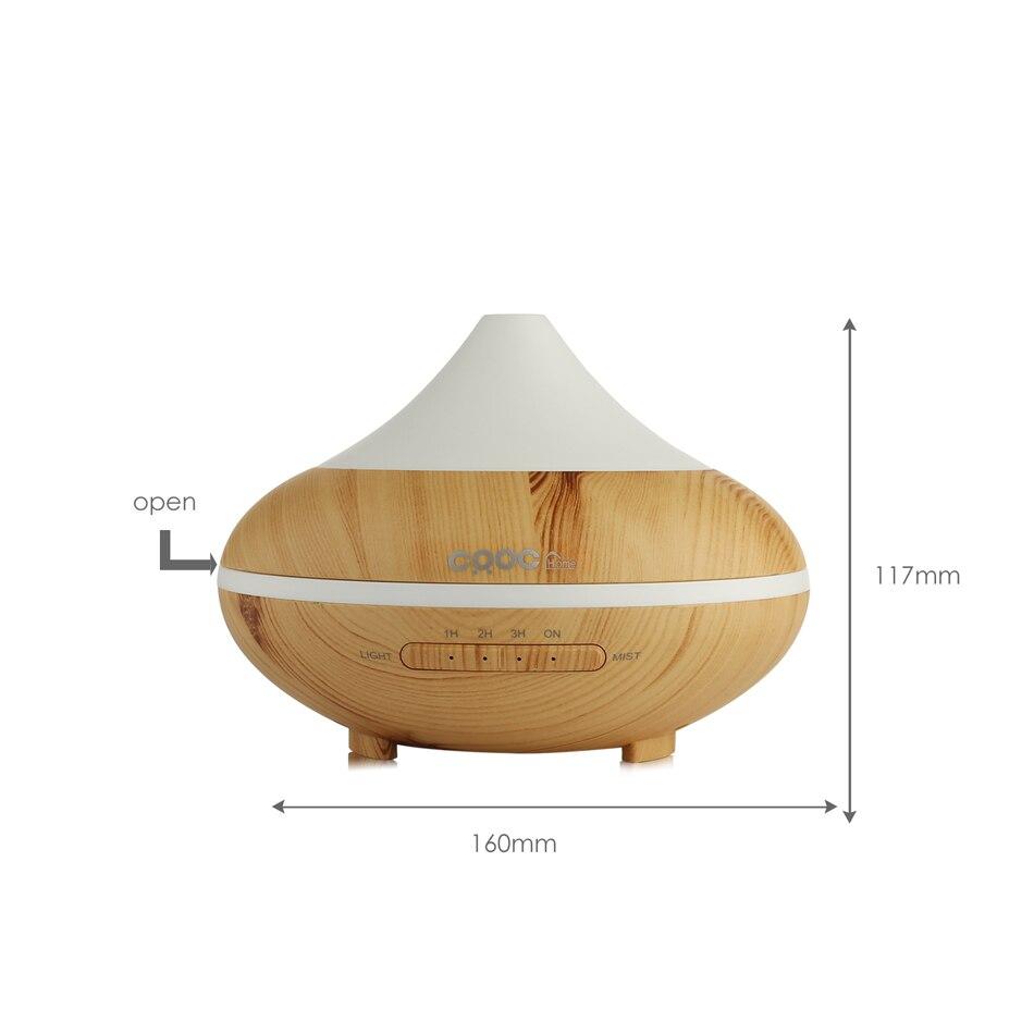 crdc 200 мл красочные ультразвуковой увлажнитель огонь масло диффузор ароматерапия туман аромат диффузор ramp электрический чайник