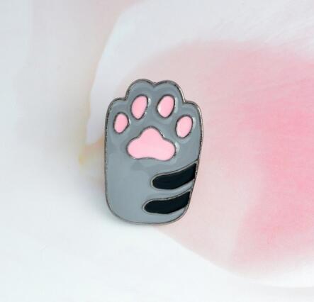 paw print-gray