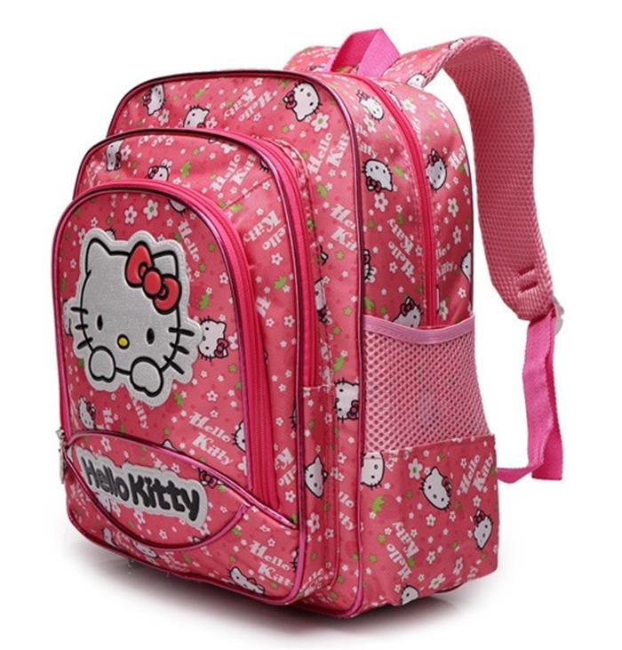 66219e0c47 School Bags children students hello kitty Backpacks from age 6 14 girls  lovely school bag wholesale-in School Bags from Luggage   Bags on  Aliexpress.com ...