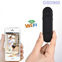 Pocket Wifi Mini Camera Police Body Worn Video Cameras Full HD 1080P DVR IR Motion Cam Remote Control For Android IOS