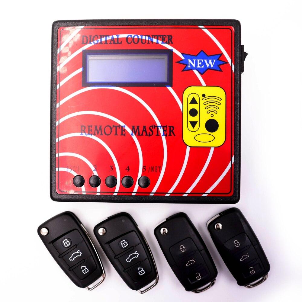 Пульт дистанционного управления копировальный аппарат цифровой счетчик дистанционного мастер с фиксированной моделью 4шт код удаленного ключи