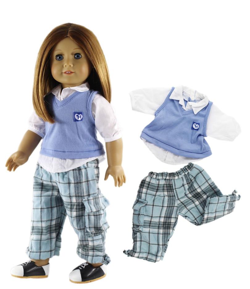 新 10 セット洋服人形 18 インチアメリカ人形姫衣装ドレス衣装  グループ上の おもちゃ & ホビー からの 人形アクセサリー の中 2