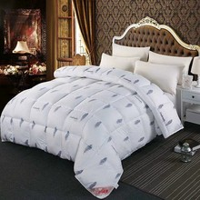 VESCOVO NEW goose down warm winter quilt 150*200 180*220 down comforter feather duvet insert queen king(China)