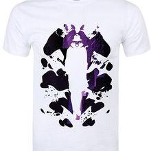 7d75f516874 Top Tees personalizar cualquier tamaño del logotipo hombres del cuello Watchmen  Rorschach impresión manga corta Camiseta