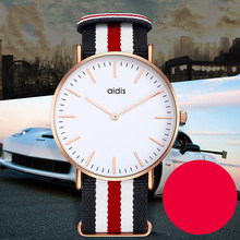 addies couple watches for lovers simple casual watch couple quartz wristwatch lover gift to boyfriend girlfriend casual watch(China)