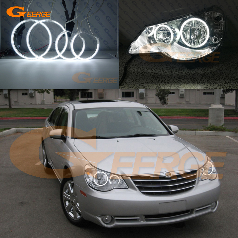For Chrysler Sebring 2007 2008 2009 2010 Headlight Excellent Ultra Bright Illumination Ccfl Angel Eyes Kit Halo Ring In Car Light Embly From Automobiles