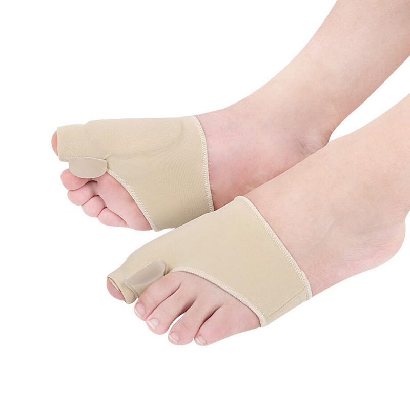 Image 2 - 2pcs Toe Orthopedic Foot Correction Toes Separator Pedicure Silicone Socks Hallux Valgus Corrector Braces Feet Care Toot-in Foot Care Tool from Beauty & Health