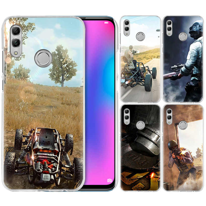 Game PUBG Winner Case for Huawei Honor 8X Y9 20 9 10 Lite Play 8C 8A Pro V20 20i Y6 Y7 Y5 2019 Hard PC Fundas Capa Phone Cover