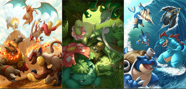 Pokemon Xy X Y Silk Wall Posters Anime Game Canvas Poster Large