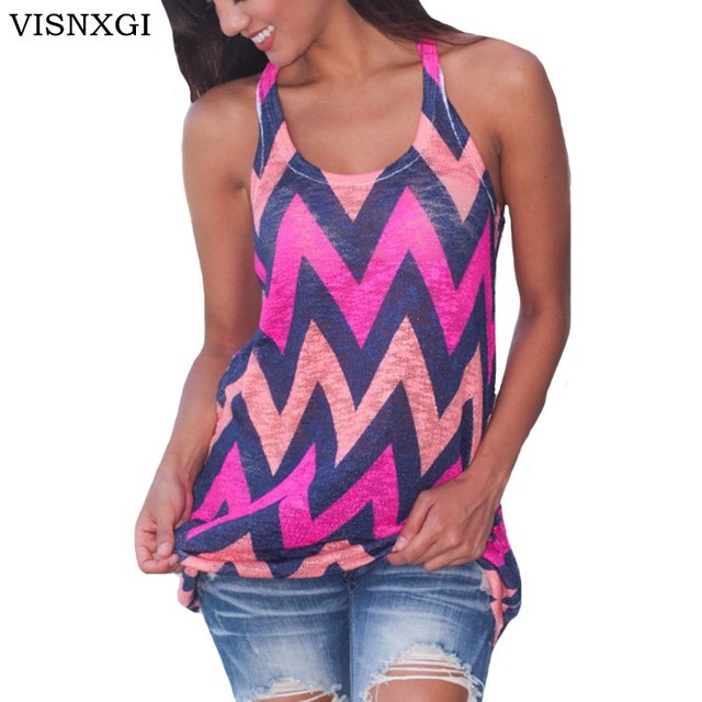 7531e207cb158 VISNXGI Summer Top Women S-XL Plus Size Sleeveless Office OL Style Tank Top  Loose