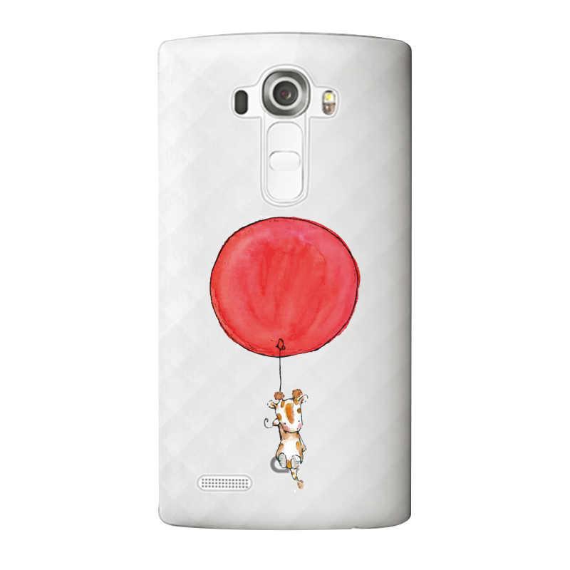Полосатый Мягкий Прозрачный ТПУ чехол для телефона LG G3 G4 G5 V10 K3 K4 K5 K8 K10 K3 2017 Бесплатная доставка чехол с медведем клубничкой и леопардом