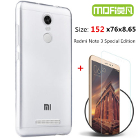Redmi Note 3 Pro International Version Glass Tempered Xiaomi Redmi Note3 Special Edition Case Silicone Cover